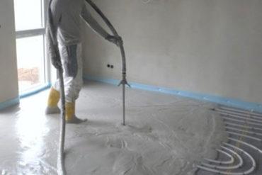wylewka - ogrzewanie podłogowe